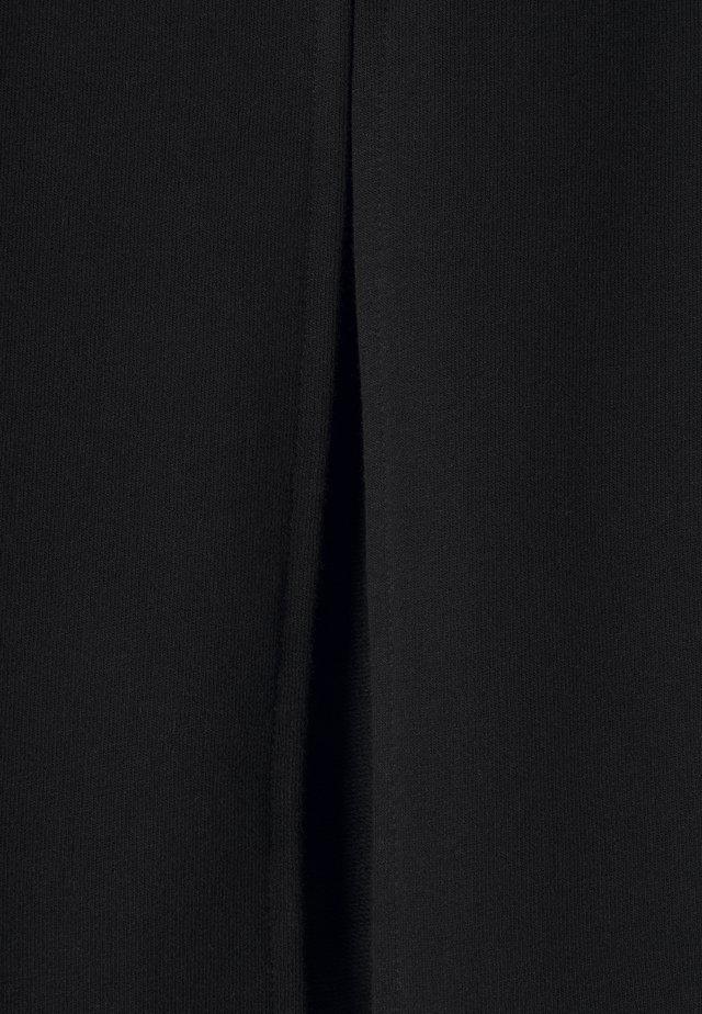 ONLDREAMER FLAIR SLIT PANTS - Bukse - black