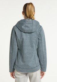 Schmuddelwedda - Waterproof jacket - rauchmarine melange - 2