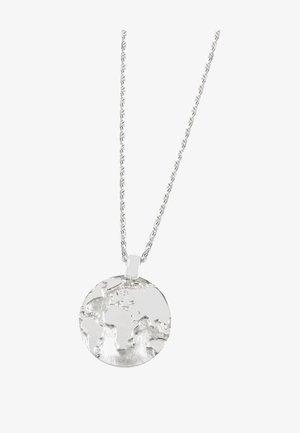 WELT ERDE  - Necklace - silber