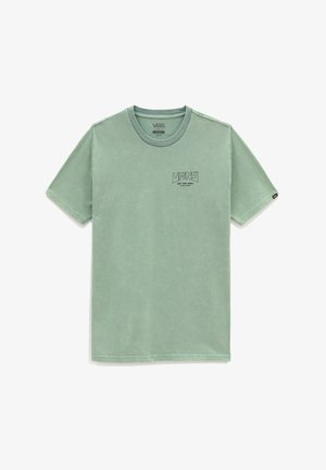 MN PEACE OF MIND ZL S/S - T-shirt con stampa - waterfall