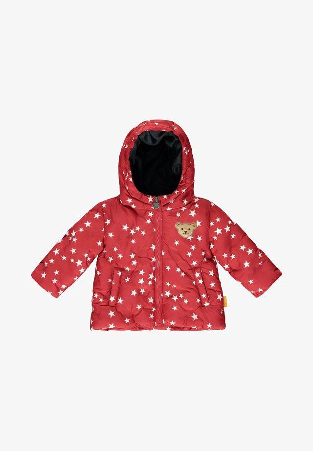 MIT SÜSSEN STERNEN - Winter jacket - tango red