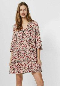 Vero Moda - SIMPLY EASY - Day dress - birch - 0