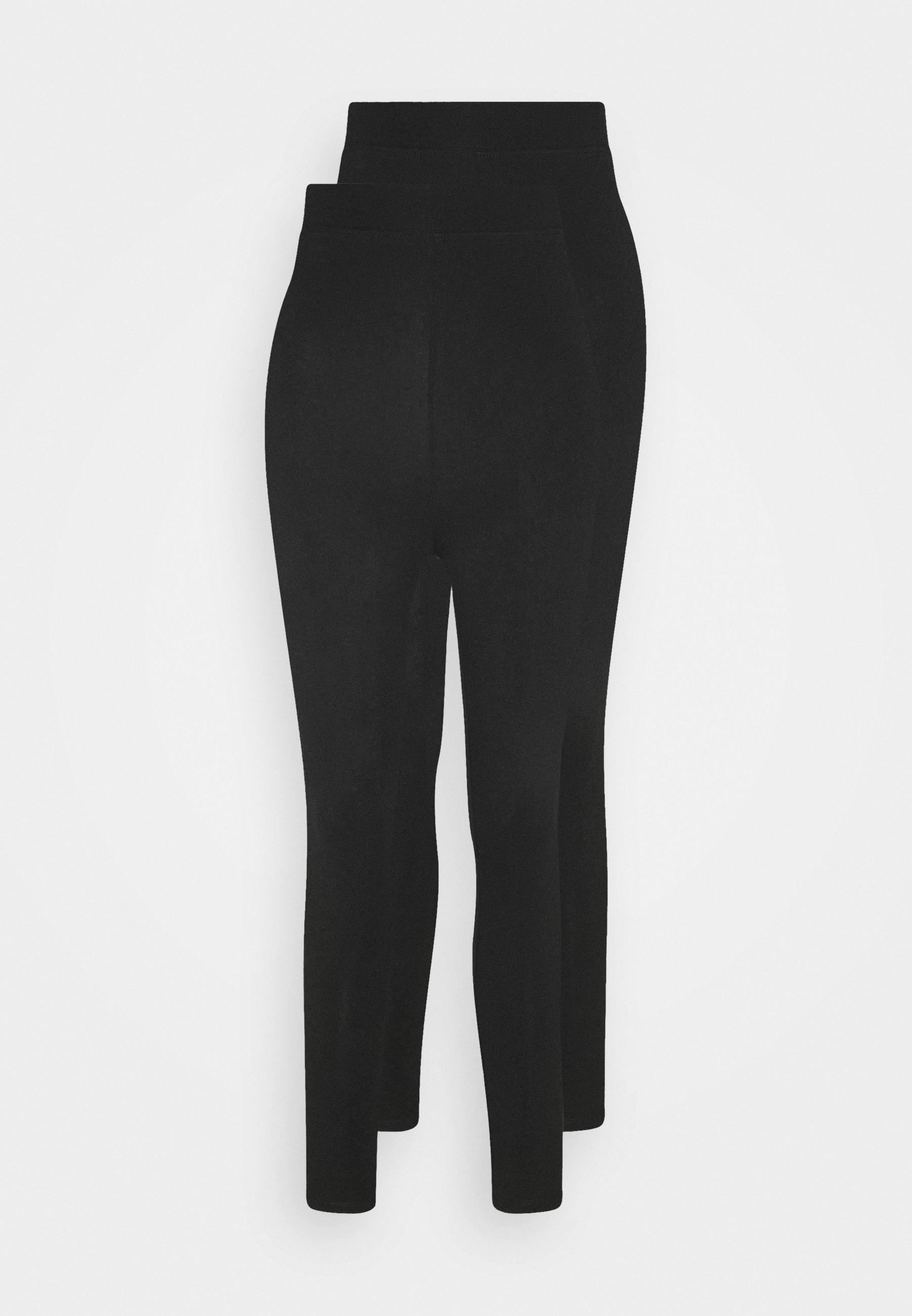Damen 2 pack HIGH WAIST legging - Leggings - Hosen