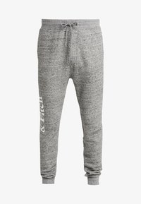 Abercrombie & Fitch - ICON  - Tracksuit bottoms - mid grey heather - 3