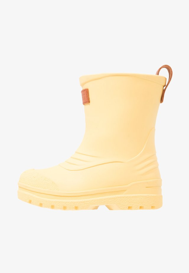 GRYTGÖL - Regenlaarzen - yellow