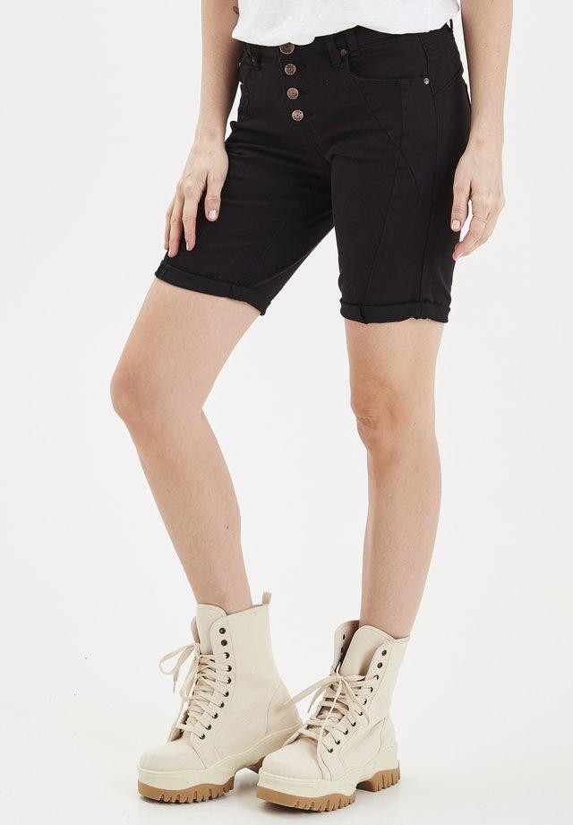 PZROSITA - Shorts di jeans - black