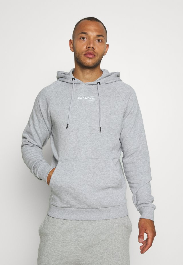 JCOTULIP HOOD - Sweat à capuche - light grey melange