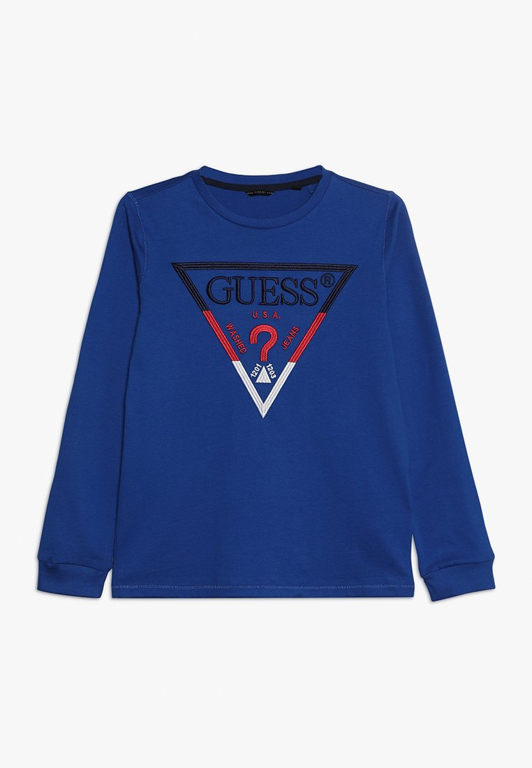 Guess - JUNIOR  - Long sleeved top - cosmic blue
