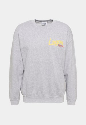 LAGOS ABSTRACT GRAPHIC - Sweatshirt - sports grey