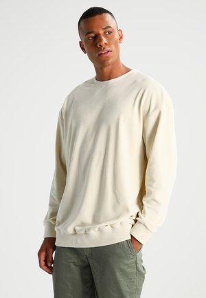 OVERSIZE CREWNECK - Sweatshirt - sand
