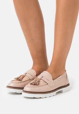 LEIGH LOAFER - Slip-ons - blush