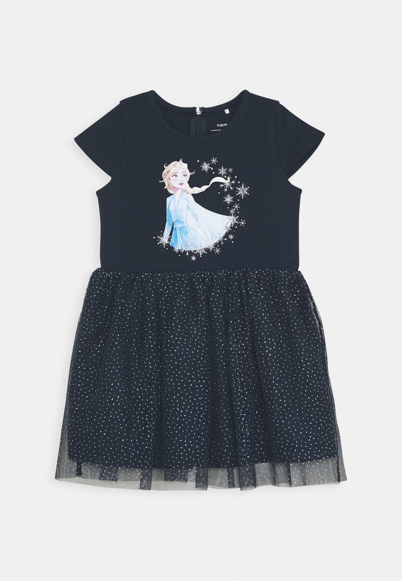 Name it - NMFFROZEN REBEC DRESS - Žerzejové šaty - dark sapphire