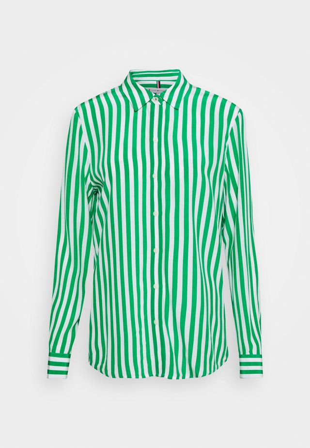 REGULAR BLOUSE - Chemisier - banker/primary green