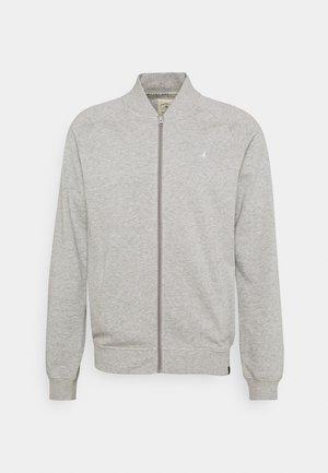 Zip-up sweatshirt - grey marl
