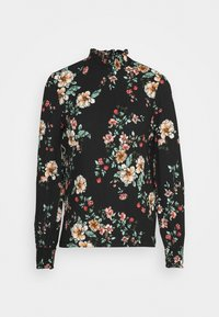 ONLY - ONLZILLE NAYA SMOCK - Long sleeved top - black/femme - 4