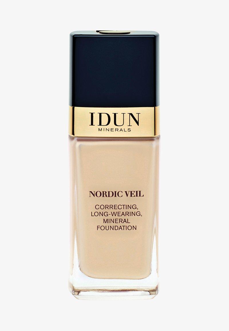 IDUN Minerals - NORDIC VEIL - Foundation - freja - warm light