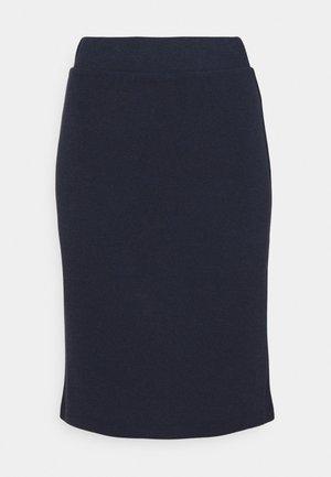OBJEDIL - A-line skirt - sky captain