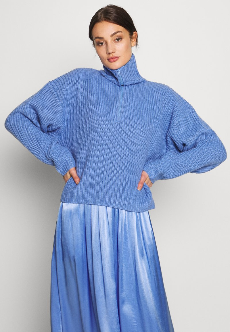 Weekday - ALISSA - Pullover - dove blue