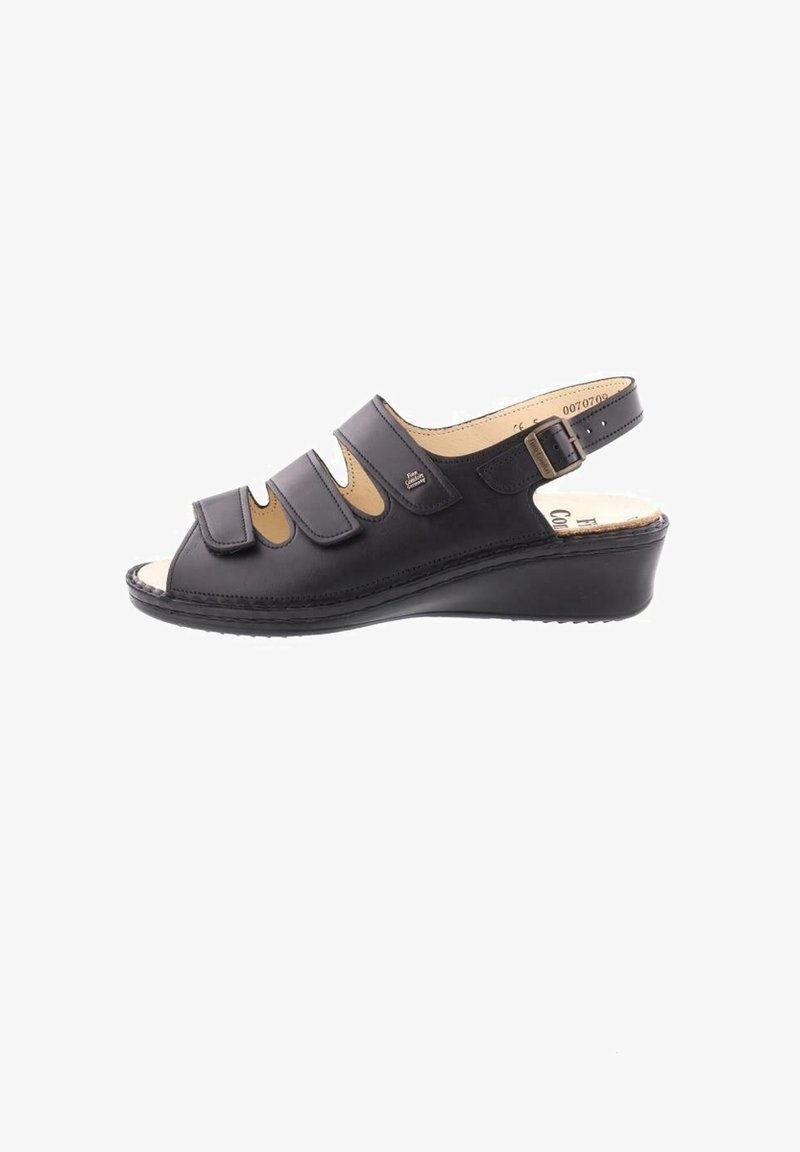 Finn Comfort - Sandals - nappaseda schwarz