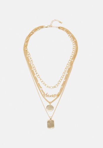 FAPPY COMBI NECKLACE - Necklace - gold-coloured