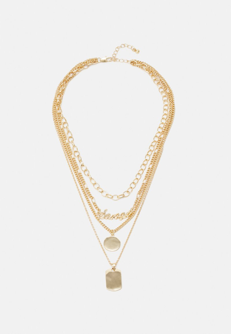 Fire & Glory - FAPPY COMBI NECKLACE - Smykke - gold-coloured