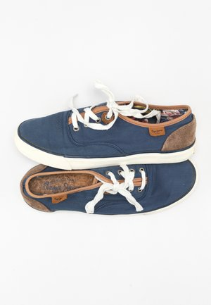 Trainers - blue/brown