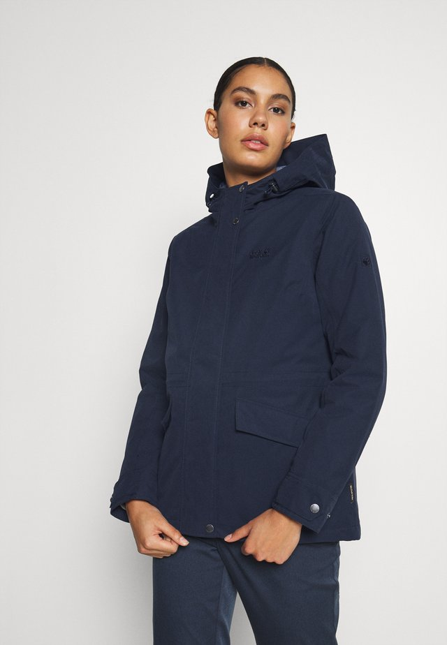LAKE LOUISE JACKET - Parka - midnight blue