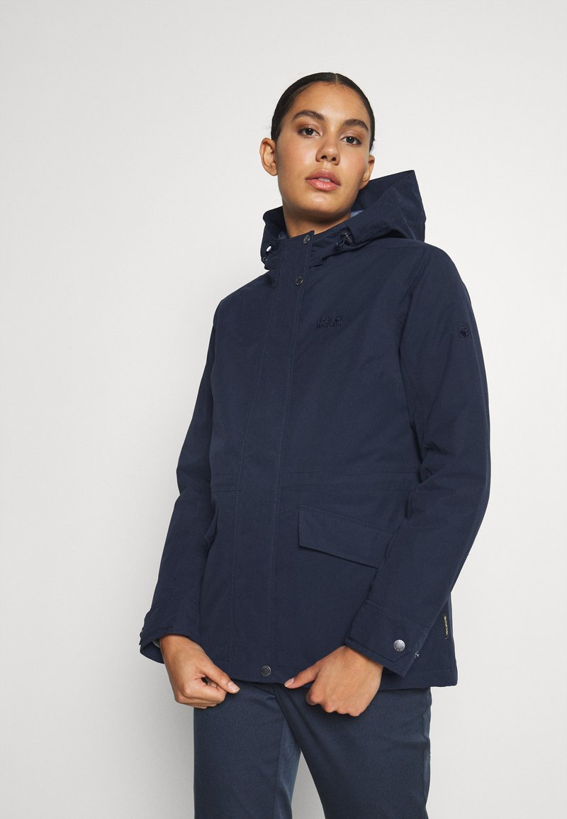 Jack Wolfskin - LAKE LOUISE JACKET - Parka - midnight blue