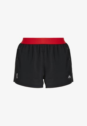 ONPALYA LOOSE TRAINING SHORTS - kurze Sporthose - black/flame scarlet