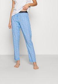 Tommy Hilfiger - ORIGINAL PANT - Bas de pyjama - dark blue - 0