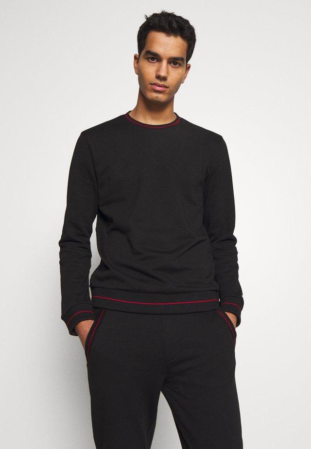 DRICK202 10187077 01 - T-shirt à manches longues - black