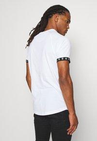 Brave Soul - T-shirt print - optic white/ jet black - 3