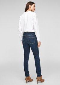 s.Oliver BLACK LABEL - Slim fit jeans - dark blue - 2