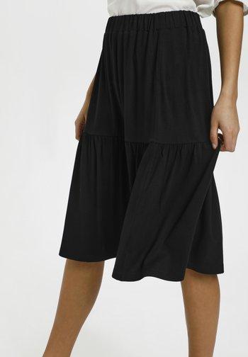 BPJILLA  - A-line skirt - black deep
