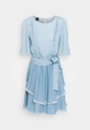 ANNABEL ABITO - Denim dress - blue denim