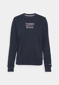 Tommy Jeans - TERRY LOGO - Sweatshirt - twilight navy - 4