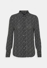 Marks & Spencer London - ANIMAL SHIRT - Button-down blouse - black - 0