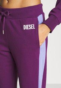 Diesel - ALINA TROUSERS - Pyjama bottoms - purple - 4