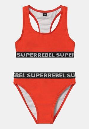 SET - Bikini - neon red