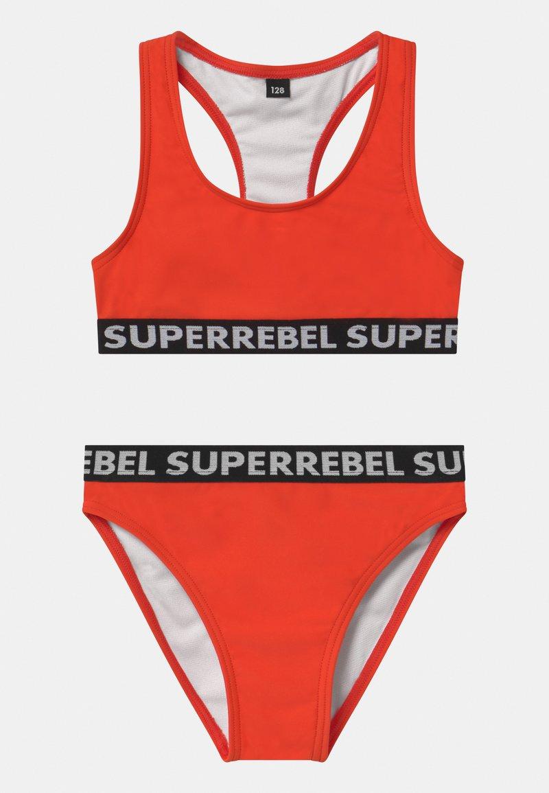 SuperRebel - SET - Bikini - neon red