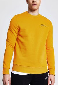 River Island - PROLIFIC MUSTARD - Sweatshirt - brown - 0