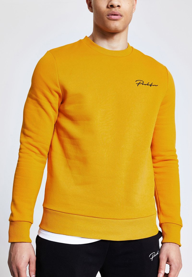 River Island - PROLIFIC MUSTARD - Sweatshirt - brown