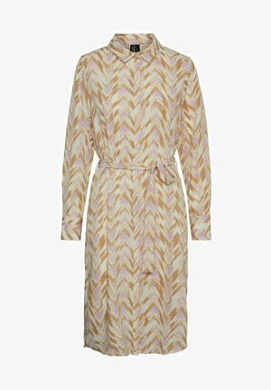 VMKATHRINE SHIRT DRESS - Blousejurk - birch