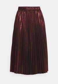 Molly Bracken - LADIES WOVEN SKIRT - A-line skirt - dark red - 3
