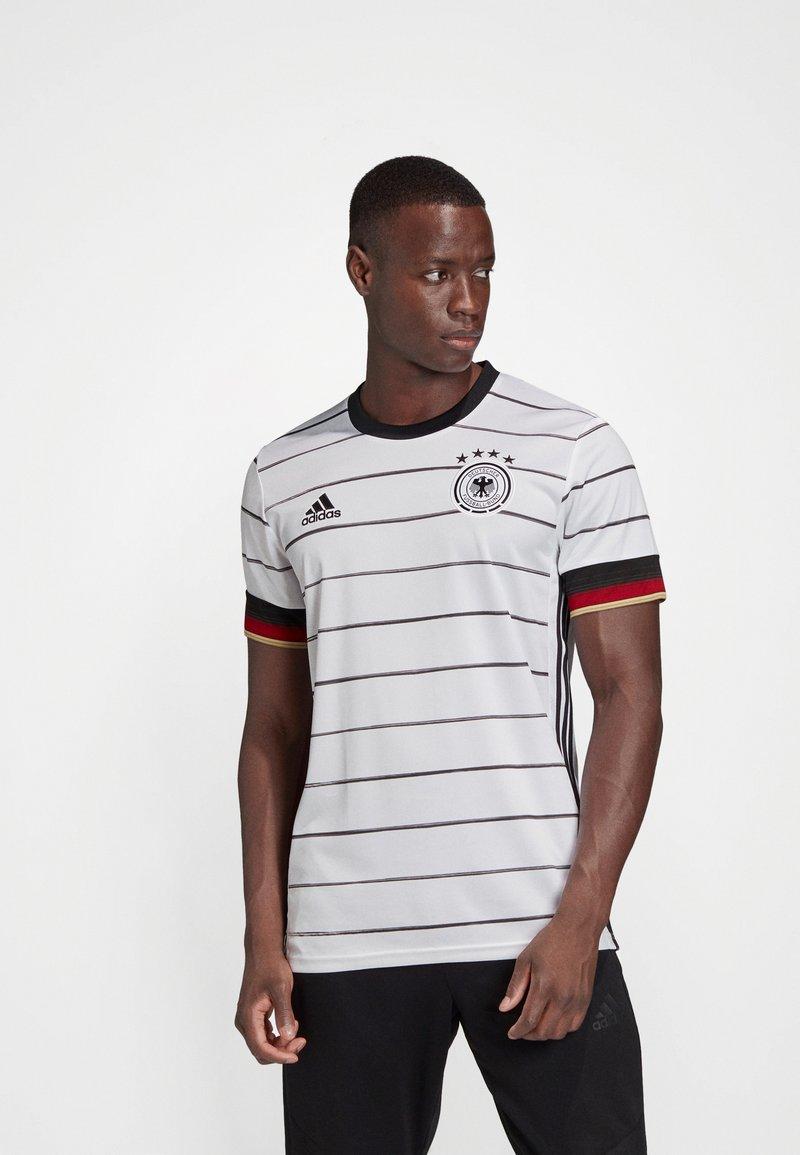 adidas Performance - DEUTSCHLAND DFB HEIMTRIKOT JERSEY SHIRT - Club wear - white/black