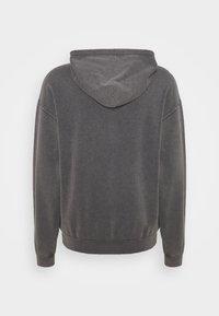 BDG Urban Outfitters - ZIP UP HOODIE UNISEX - Felpa con zip - black - 1