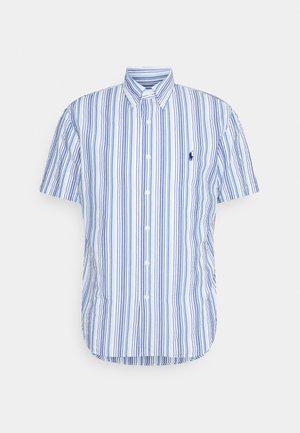 SEERSUCKER - Camicia - blue/white