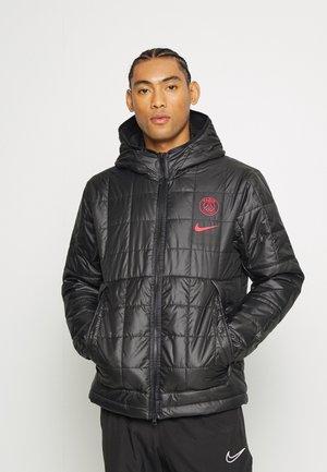 PARIS ST. GERMAIN - Training jacket - black/siren red