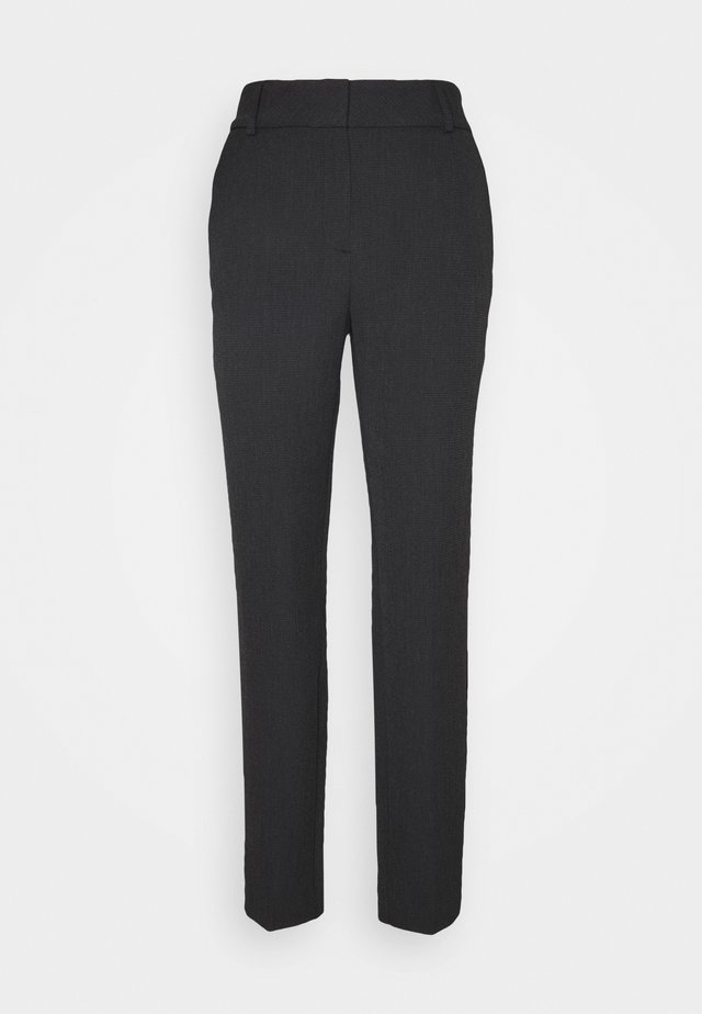 SLFRIA CROPPED PANT - Broek - black
