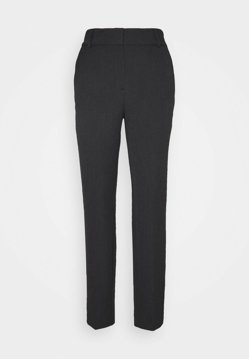 Selected Femme Tall - SLFRIA CROPPED PANT - Trousers - black
